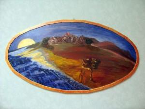 Notturno Africano - Maledetto angolo di Paradiso - tecnica mista - Collezione Veronese Anna Maria