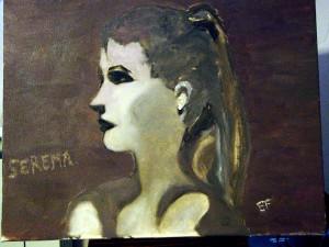 Serena - 40x 50cm - olio su tela