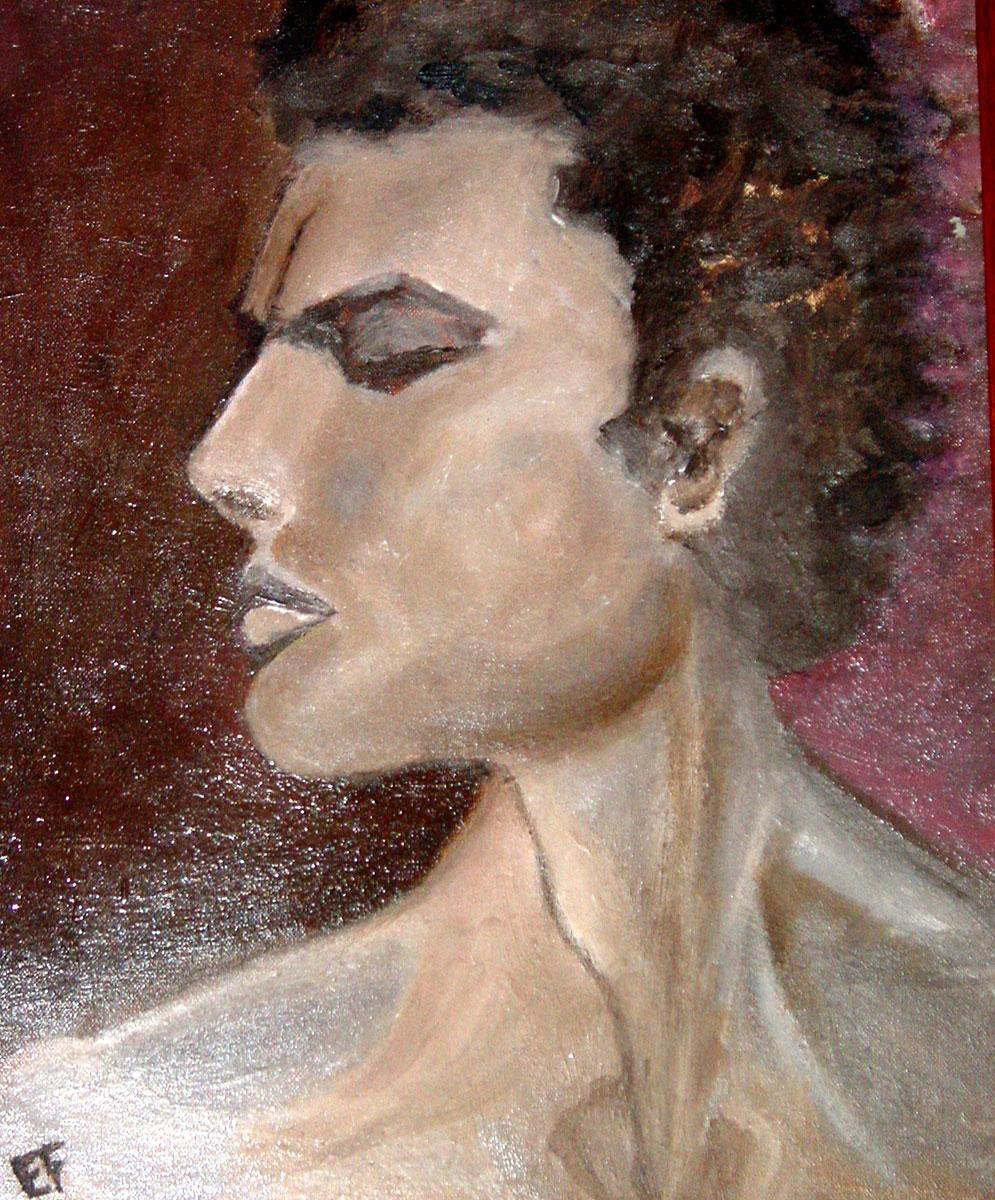 ''Eliot'' - olio su pannello telato 35x45cm