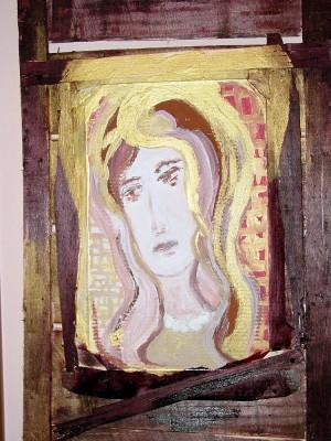 Triste Madonna delle perle