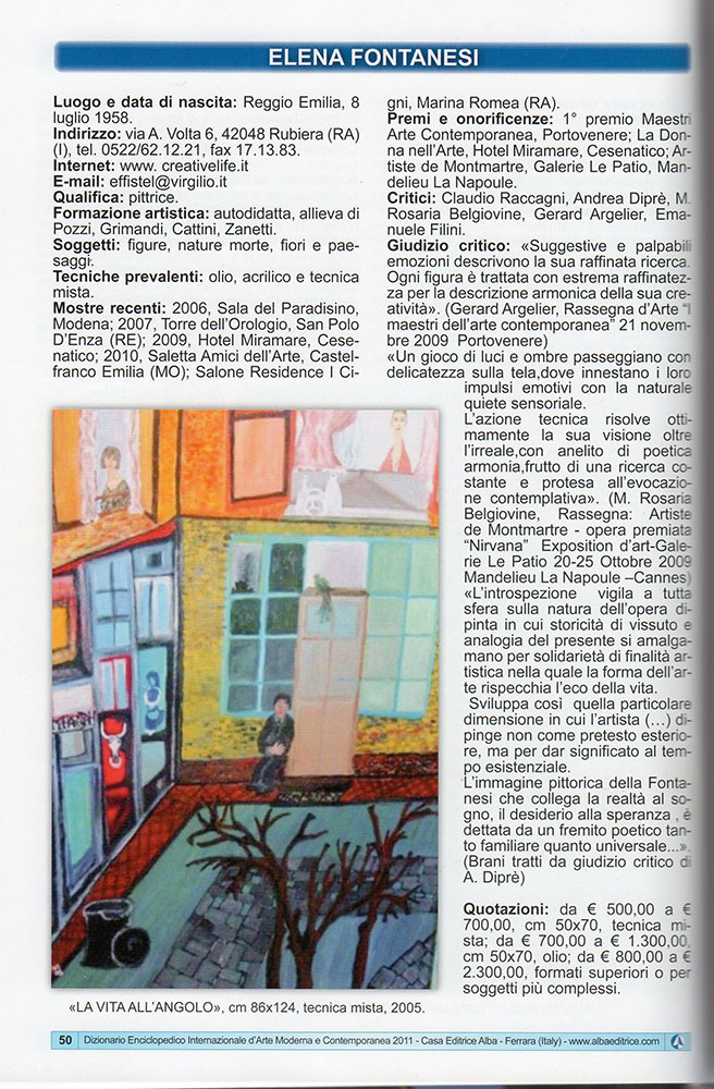 Dizionario Encicolpedico Internazionale d'Arte Moderna e Contemporanea - 2011