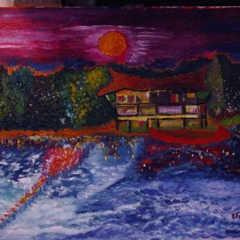 La casa dei miei sogni , esterno e dintorni , Collettiva di S.Caterina. Rocca di Scandiano - Associazione artistica OPENART